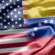 U.S. and Venezuela. - Stock Photo