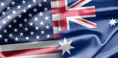 USA and Australia — Stockfoto