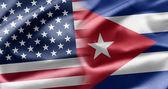USA and Cuba — Stock Photo