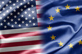 USA and EU — Stock Photo
