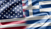 USA and Greece — Stock Photo