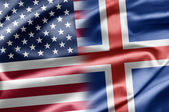 USA and Iceland — Stock Photo