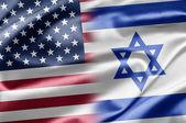 USA and Israel — Stock Photo
