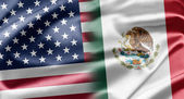 USA and Mexico — Stock Photo
