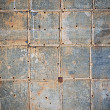 Stock Photo: Old metal wall