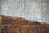 Metal plate wall — Stock Photo
