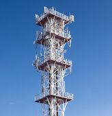 Antena congelada en los países nórdicos. — Foto de Stock