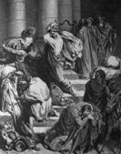 Expulsion from the Temple merchants. — Stock Photo