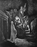 The Raising of Lazarus. — Stock Photo