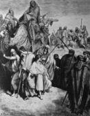 Joseph sold into Egypt. — Stock Photo