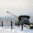Stock Photo: Second world war artillery