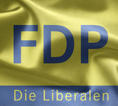 Free Democratic Party (Germany) — Stock Photo