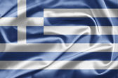 National Flag Greece — Stockfoto