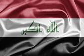 Bandeira do iraque — Foto Stock
