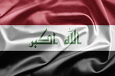 Flag of Iraq — Fotografia Stock