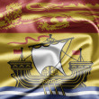 Flag of New Brunswick - Stock Photo