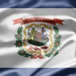 Flag of West Virginia — Stockfoto #9772906