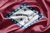 Flag of the state of Arkansas — Stock Photo