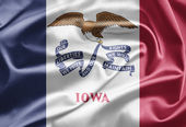 Flag of Iowa — Stock Photo
