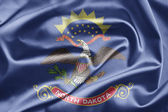 Flag of North Dakota — Stock Photo