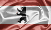 Flag of Berlin — Stock Photo