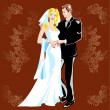 Wedding — Vector de stock