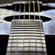 Strings of  guitar — Stock Photo