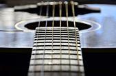 Gitar dizeleri — Stok fotoğraf