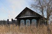 Opuszczony dom rewda (rosja — Zdjęcie stockowe
