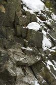 A rock - a boulder — Stock Photo