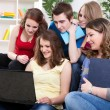 Young study group — Stock Photo