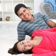 Smiling young couple — Stock Photo #10516008