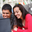 Couple With Laptop — Stock Photo #10516015