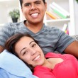 Happiness loving couple — Stock Photo