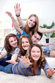 Young friends having fun — Stock Photo