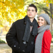 Young fashion couple — Foto Stock