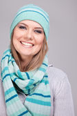 Beautiful smiling woman — Stock Photo