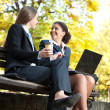 Stock Photo: Business on coffee break