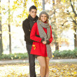 Fashion love couple — Stock Photo