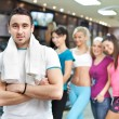 Young fitness instructor — Stock Photo