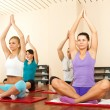 Stock Photo: Yoga class