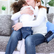 Mother and daughter having a good time — Stock Photo