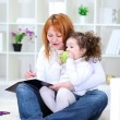 Mother and daughter together — Stock Photo #9775143