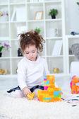 Playful little girl — Stock Photo