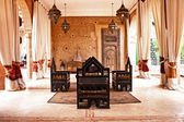 Place arabe traditionnelle pour relax — Photo