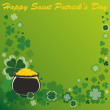 Patrick's Day Background — Stock Vector