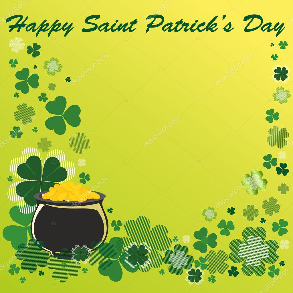 Patrick's Day Background  Stock Vector #9377552