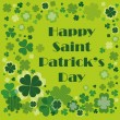 Happy Saint Patrick's Day Background — Stock Vector #9449818
