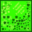 Happy Saint Patrick's Day Background — Stock Vector #9451258