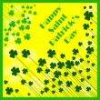 Stock Vector: Happy Saint Patrick's Day Background